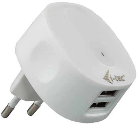 i-Tec USB High Power AC 230V Charger 2.1A pro iPAD