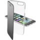 CellularLine Clear Book průhledné pouzdro typu kniha pro Apple iPhone 7, černá