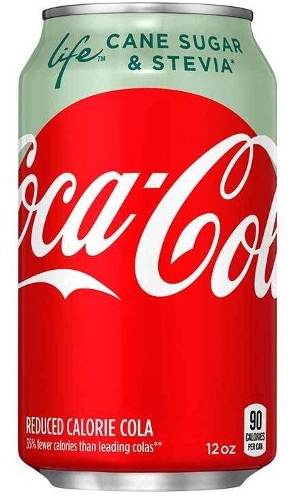 Coca Cola Life, limonáda, 355 ml