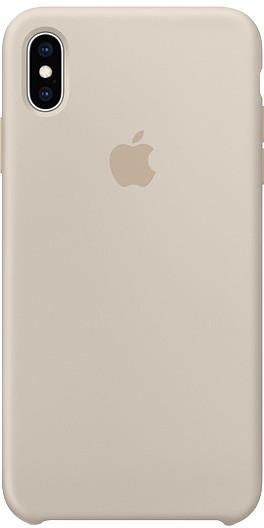 Apple silikonový kryt na iPhone XS Max, kamenně šedá