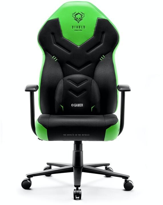 Diablo X-Gamer 2.0, černá/zelená
