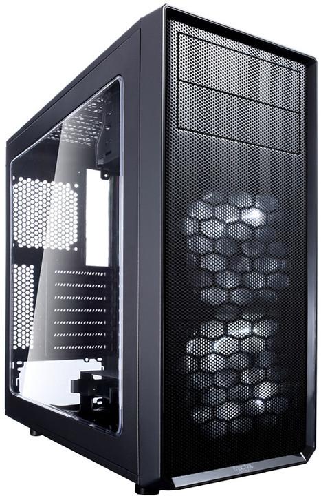 Fractal Design Focus G, černá (okno)