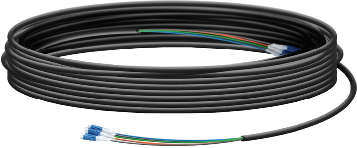 Ubiquiti Fiber Cable 100 optický kabel, 30m, SingleMode, 6xLC na každé straně