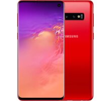 Samsung Galaxy S10+, 8GB/128GB, Cardinal Red  + Xiaomi Mi True Wireless Earbuds Basic, černá v hodnotě 790 Kč + Samsung Baterry Pack (Type-C) Fast Charge, silver v hodnotě 599 Kč + DIGI TV s více než 100 programy na 1 měsíc zdarma