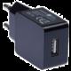 CONNECT IT nabíjecí adaptér 1xUSB port 1 A, černá