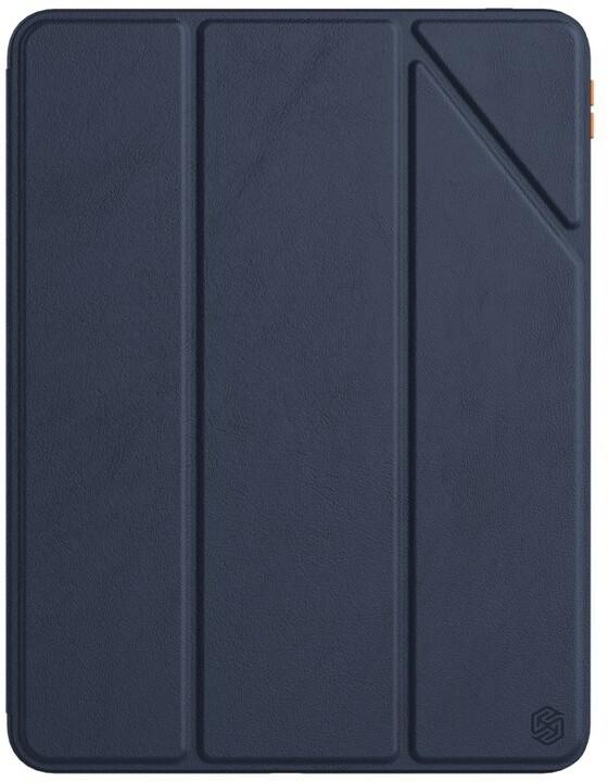 """Nillkin flipové pouzdro Bevel Leather Case pro iPad Pro 11"""" 2020/2021, modrá"""