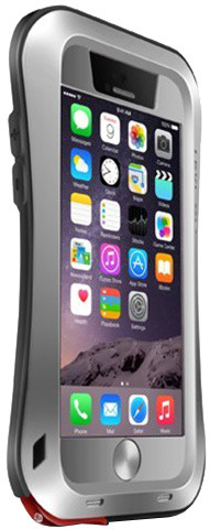 Love Mei Case iPhone 6 Three anti Waistline Silver