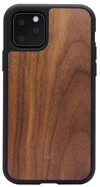 Woodcessories ochranný kryt TPU Bumper pro iPhone 11 Pro, Walnut