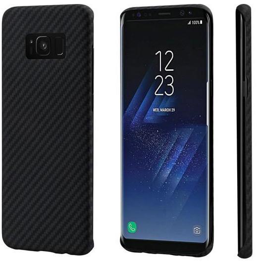 Pitaka Aramid case pro Samsung Galaxy S8, černá/šedá