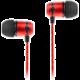 SoundMAGIC E50, černo-červená