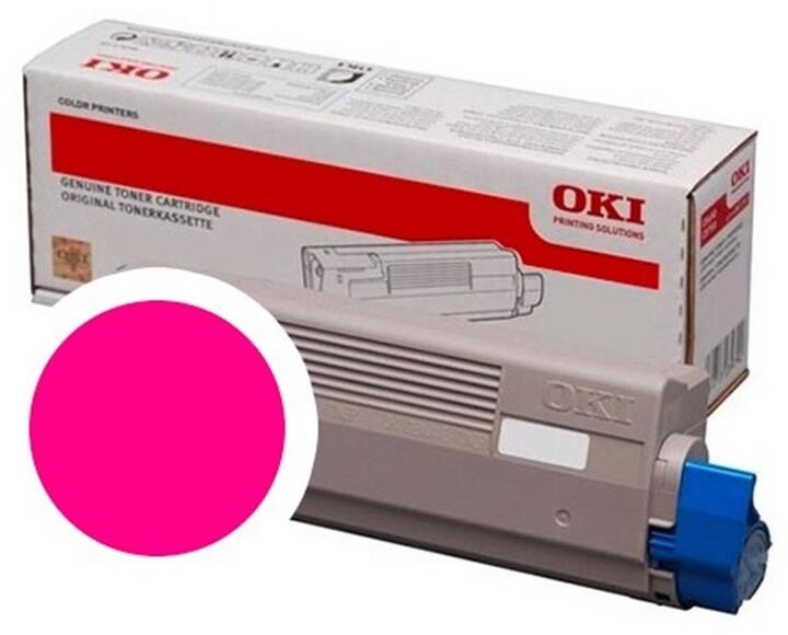 OKI 46861306, magenta
