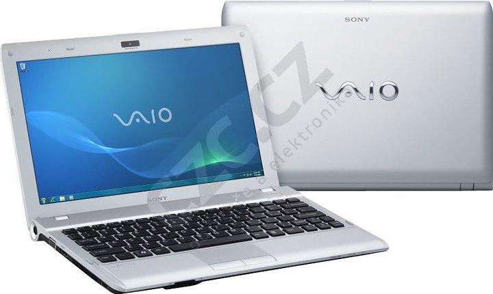 Sony VAIO YB (VPCYB1S1E/S), stříbrný