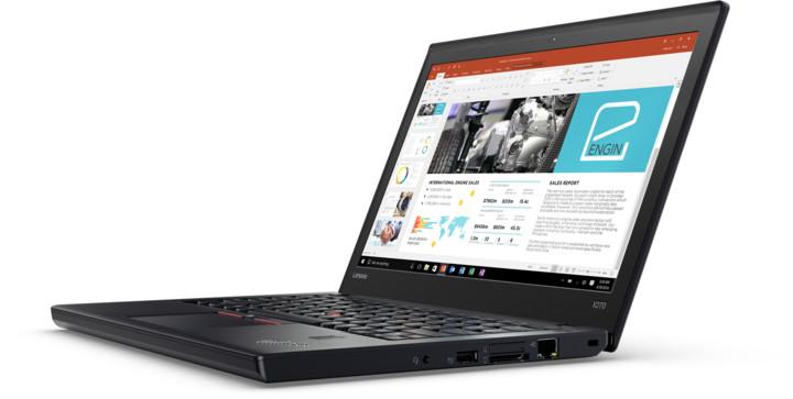 Lenovo ThinkPad X270, černá