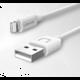 USAMS SJ097 datový kabel Lightning U Turn (EU Blister), bílá
