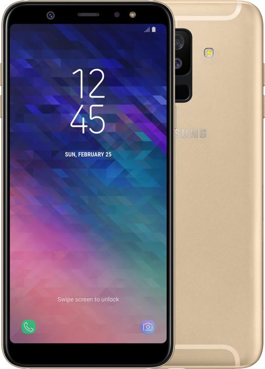 Samsung Galaxy A6+ (SM-A605), zlatá