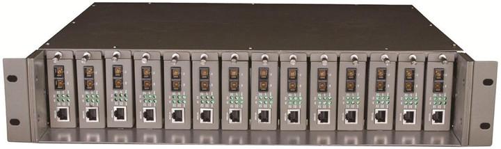TP-LINK TL-MC1400 14-Slotové šasi pro media konvertory