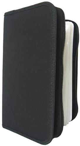 Cover It box-pouzdro:96 CD zapínací černé