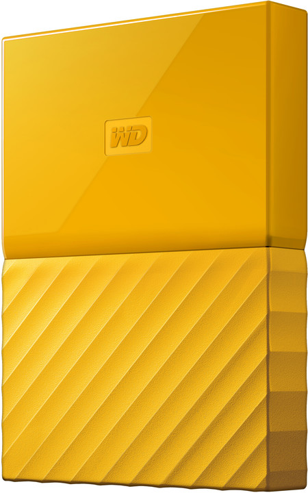 WD My Passport - 1TB, žlutá