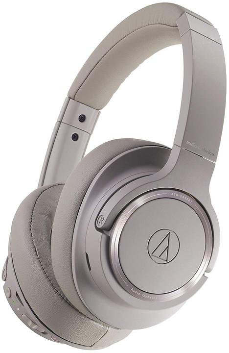 Audio-Technica ATH-SR50BTBW, šedá