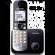 Panasonic DECT KX-TG6811FXM, stříbrná  + Voucher až na 3 měsíce HBO GO jako dárek (max 1 ks na objednávku)