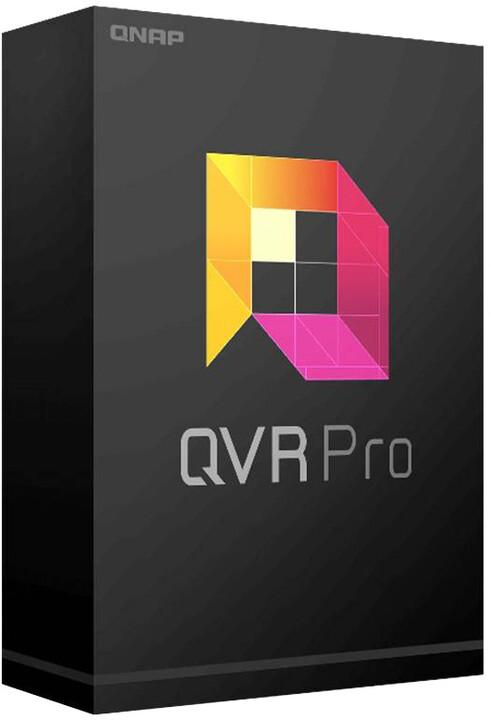 QNAP QVR Pro Full Playback - Neomezená doba přehrávání kamerového záznamu - el. licence OFF