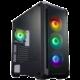 Fortron CMT520, sklo, 4x RGB LED 120mm, černá  + Voucher až na 3 měsíce HBO GO jako dárek (max 1 ks na objednávku)