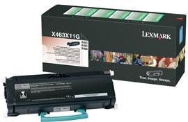 Lexmark X463X11G - černá