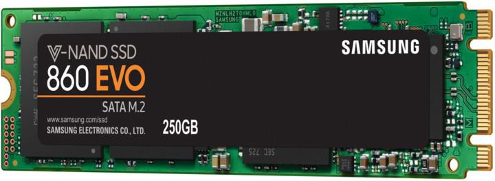 Samsung SSD 860 EVO, M.2 - 250GB