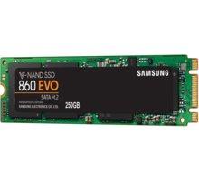 Samsung SSD 860 EVO, M.2, 250GB - MZ-N6E250BW