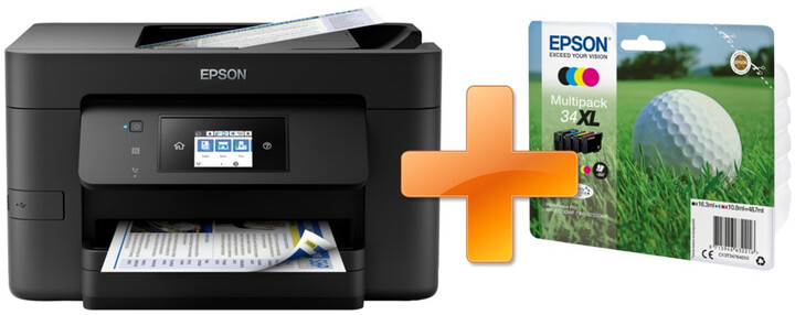 Epson WorkForce WF-3720DWF + sada inkoustů 34XL