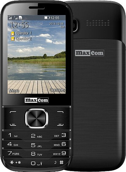 Maxcom Classic MM237, Dual Sim, černá