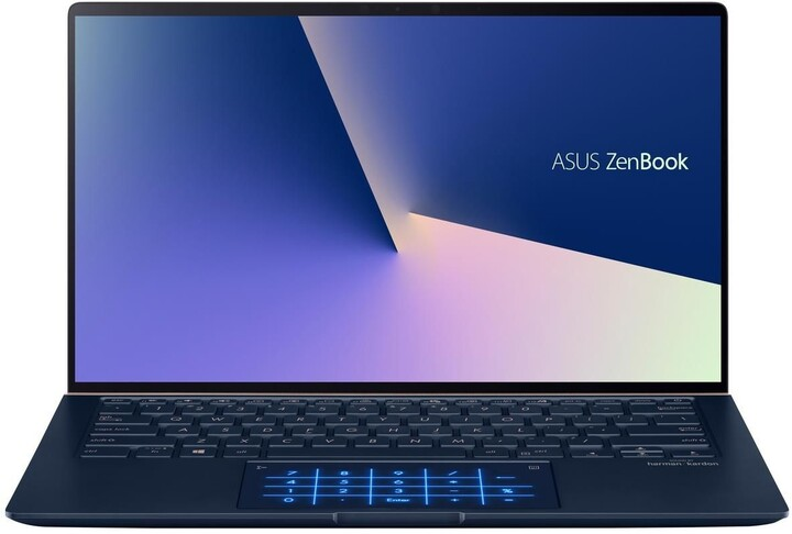 ASUS Zenbook UX434FQ, modrá