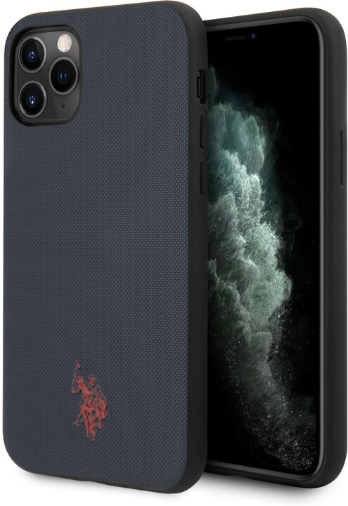 U.S. Polo ochranný kryt Wrapped pro iPhone 11 Pro, modrá