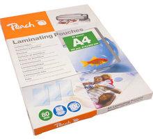 Peach laminovací fólie A4, 80mic, 100ks - PP580-02