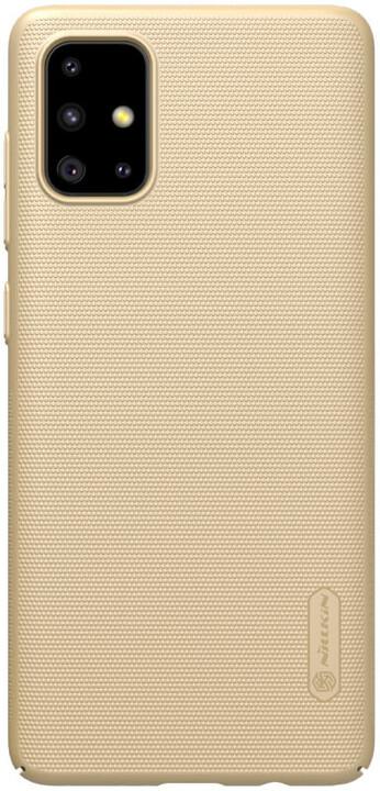 Nillkin Super Frosted zadní kryt pro Samsung Galaxy A71, zlatá