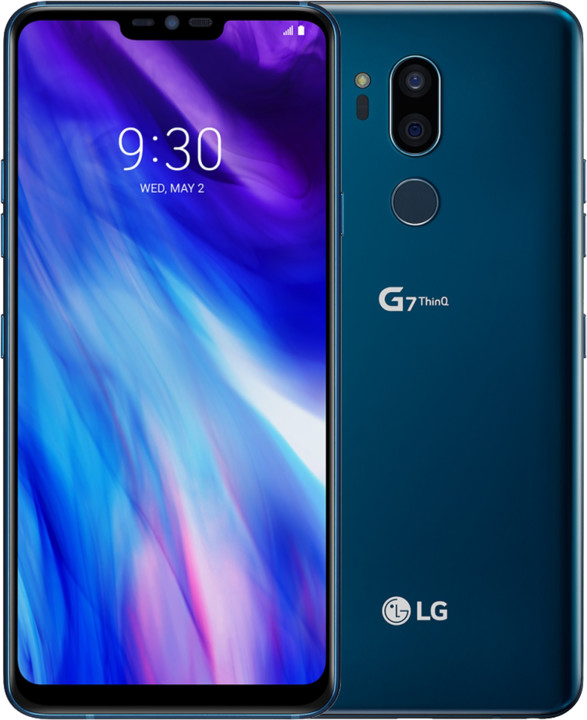 LG G7 ThinQ, New Moroccan Blue