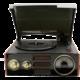 GPO Retro Empire, černá  + Sluchátka Happy Plugs In Ear, oranžová v ceně 650 Kč + Voucher až na 3 měsíce HBO GO jako dárek (max 1 ks na objednávku)