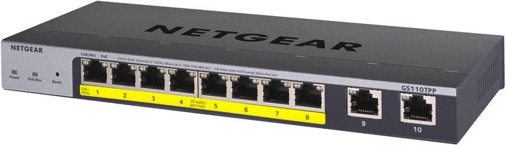 NETGEAR GS110TPP Smart Cloud Switch