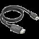 C-TECH kabel DisplayPort/HDMI, 1m, černá