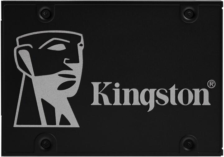 Kingston KC600, 2.5'' - 256GB