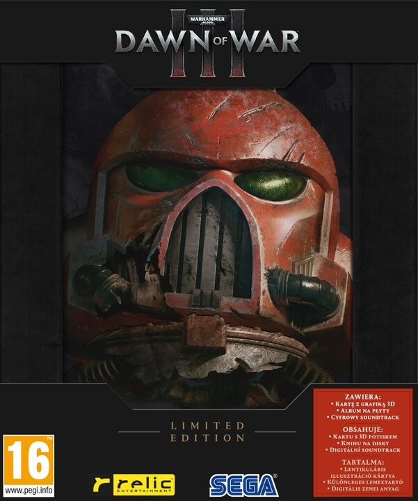 Warhammer 40.000: Dawn of War III - Limited Edition (PC)