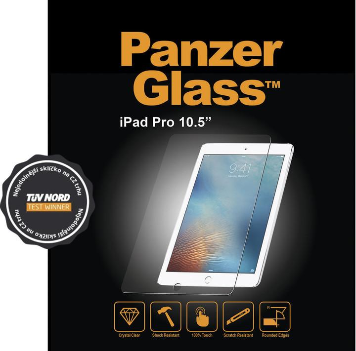 "PanzerGlass Edge-to-Edge pro Apple iPad Pro 10,5"", čiré"