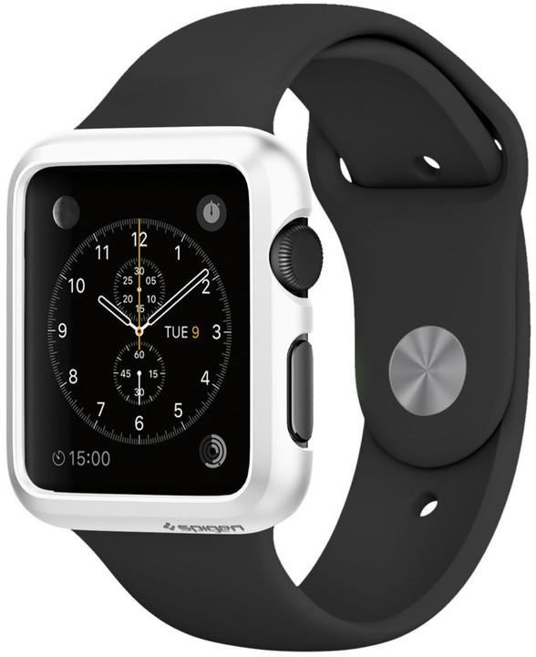 Spigen Thin Fit, smooth white - Apple Watch 42mm