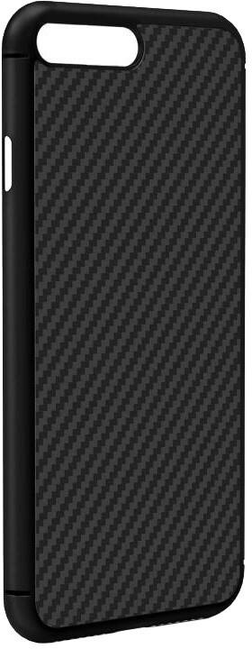 Nillkin Synthetic Fiber ochranný zadní kryt pro iPhone 8 Plus, černá