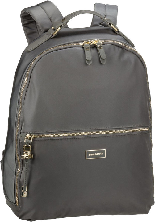 "Samsonite Karissa Biz BACKPACK 14.1"" Gunmetal Green"