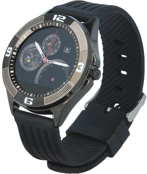 Forever chytré hodinky SW-100, černé