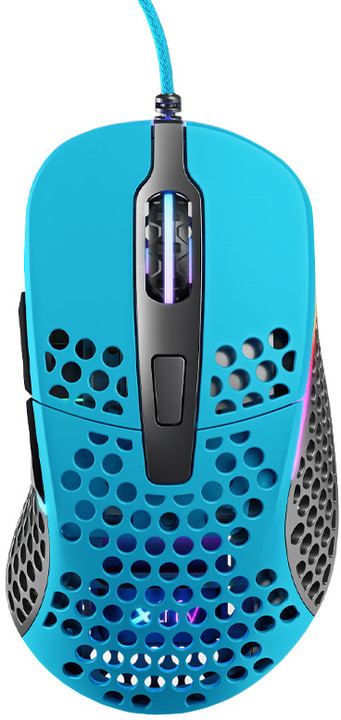 Xtrfy M4 RGB, modrá