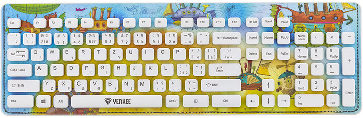 YENKEE YKB 1020BE Fantasy, CZ/SK