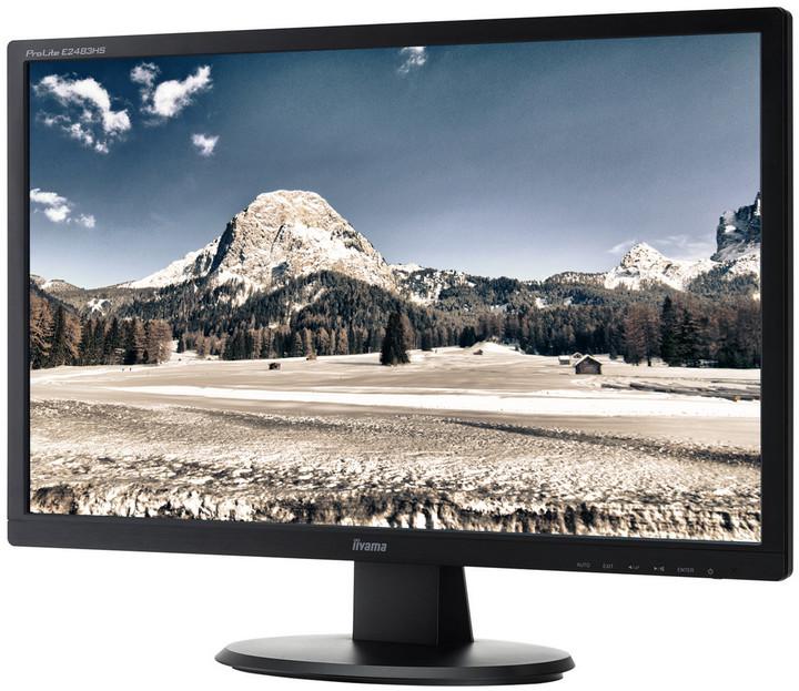 """iiyama E2483HS-B1 - LED monitor 24"""""""