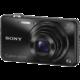 Sony Cybershot DSC-WX220, černá  + 300 Kč na Mall.cz